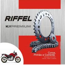Kit Relaçao (transmissão) Da Cb300 Cb300r 2009/2015 Riffel