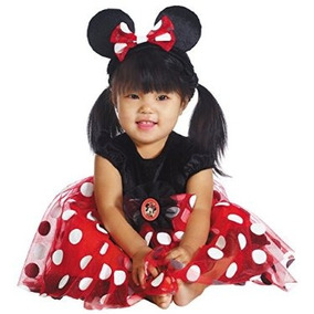 Red Minnie Mouse Traje - Infantil