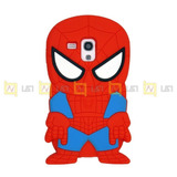 Spiderman Heroes Case Funda Silicona Samsung Galaxy S3 Mini