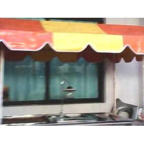 Carro De Hamburguesas, Hot Dogs Y Papas Fritas