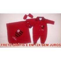 Saída De Maternidade Personalizada - Flamengo Masculino