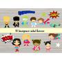 16 Imagenes Mini Superheroes