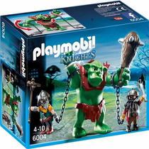 Playmobil 6004 Trol Gigante De Luchadores