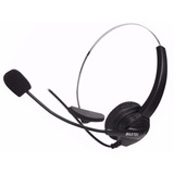 Fone Headset Telefone Fixo Fio Maxtel Rj11 Telemarketing