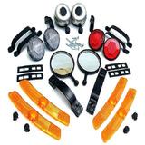 Acessorios Para Bike Refletor+buzinas Completo