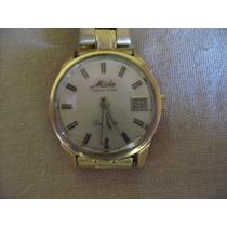 Reloj Mido Ocean Star Oro Datorette De Mujer