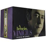 Cd Vinicius De Moraes Box Set 18cds Arca Do Poeta