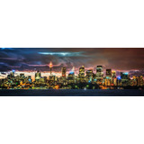 Cuadro Moderno, Panorámico: Ciudad Vancouver, 80x150 Cm.
