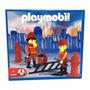 Playmobil Antex Vintage Set Bomberos Incendio Tienda Pepino