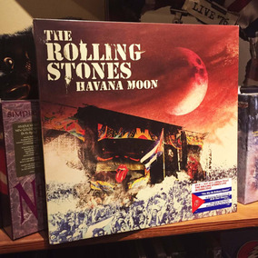 The Rolling Stones Havana Moon 3 Vinilos + Dvd
