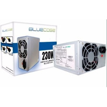 Fonte Atx Bluecase 230w Real - 450 Watts Nominal - 24 P