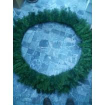 Corona Navideña Gigante Jumbo Decoración Navidad 150cm 1.5mt