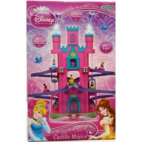 Castillo Magico Princesa Ascensor Musica Luz Ditoys. Z/oeste