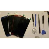 Pantalla Lcd S4 Completa Color Rojo Y Negra I9500/i9505/i337