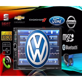 Autoestereo Pantalla Tipo Agencia ,vw,seat,ford,gm,universal