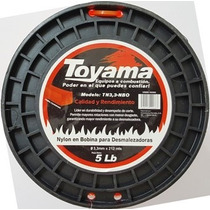 Nylon Toyama Desmalezadora Guadaña 3.3mm Cuad. Bobina 212m