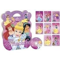 Coleção Princesas Disney 8 Vols Acompanha Cd Novo Lacrado