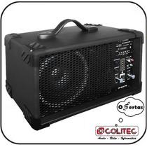 Cabeçote Up Áudio 644 Fm Com Radio 40w Rms + Entrada Usb