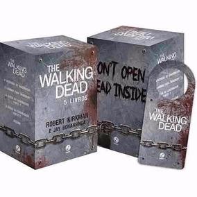 Coleção The Walking Dead - Box 5 Livros - Suspense - Lacrado