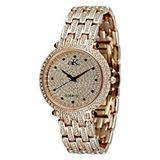 Reloj Adee Kaye De Mujeres Prima Donna Rose 35.8mm Dorado D