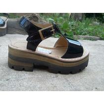 Zapato De Nena Plataforma Charol