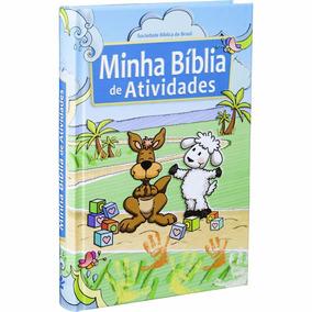 Bíblia Infantil Ilustrada Minhas Atividades Bíblicas
