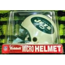 Micro Cascos Nfl Jets De Nueva York Marca Riddell