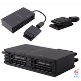 Multitap Control Playstation 2 Ps2 Play Sony Slim Adaptador
