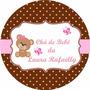 50 Adesivos Personalizados Lembrança Chá De Bebê, Fraldas