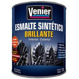 Esmalte Sintetico Brillante Gris Venier Premium X 20 Litros