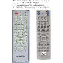Controle Semp 3130 Xb1206mu 1207mu 1525 Cr4120 1535 Fbt 1329
