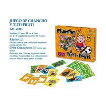 Juego De Mesa -tuti-fruti Y Chancho - Toto Games
