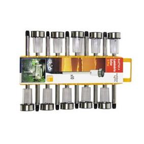 Conjunto De Luminárias Solares Com 10 Peças - Batiki
