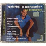 Cd -gabriel O Pensador-as Melhores-ed.limitada-novo