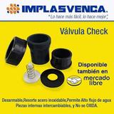 Valvula Check Pvc Para Pegar 1 Pulgada