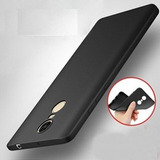 Funda Silicona Xiaomi Redmi Note 4 / 4x / 4 Global Negro