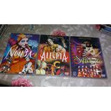 Coleção Dvds Cirque Du Soleil La Nouba Saltimbanco Alegria
