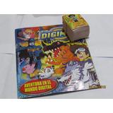 Album De Figuritas Digimon 1 Completo A Pegar