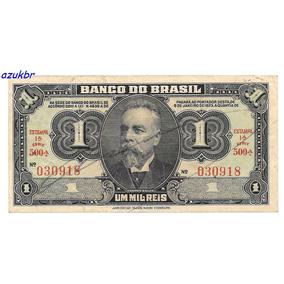 * C001 1000 Reis Bb Aprov 1 Cruz. Ultima Serie C-001 Mbc/s *