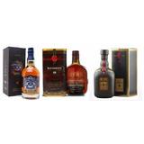 Whisky 18 Anos - Buchanans 750 Ml + Old Parr + Chivas 750 Ml
