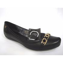 Sapatilha Feminina Bottero Couro 250804 Snob Calçados-s1