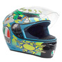 Capacete Agv K-3 Wake Up Valentino Rossi ( 46 ) Azul