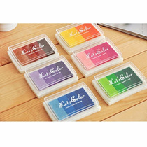 6 Tintas Color Gradual Para Sellos, Huellas Dactilares