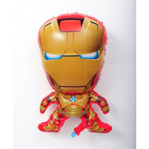 Globo Forma Por 1 Unid Iron Man 65cm Inflado Con Helio