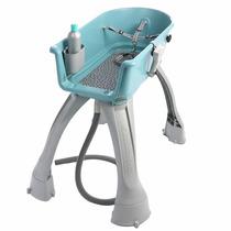 Bañera Mascota Perro Gato Booster Bath Raza Mediana Azul