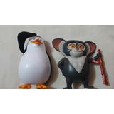 Pinguinos De Madagascar Burguer King Mcdonald