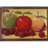 Cuadro Grande Nuevo Manzanas Tres Colores