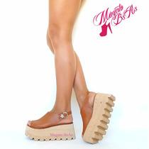 Zapatos-sandalia Mujer Con Plataforma Goma Eva Verano 2017