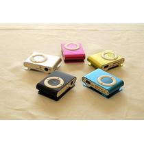 Reproductor Mp3 Shuffle De Memoria Extraible Con Audifonos