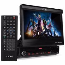 Dvd Player Retrátil Ucb-dr170 Cd Usb Tela Lcd 7